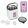 Portable 2L Home Steam Sauna Spa Full Body Slimming Loss Weight Detox. Silver