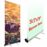 """Professional 39.5""""x79"""" Retractable Roll Up Banner Stand Trade Show Sign Display"""