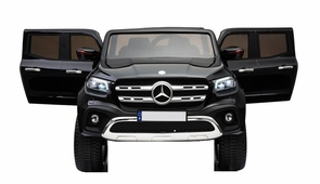 Magic Cars® 2 Seater Ride On Car BIG Class Mercedes Benz Pickup ATV Jeep Style Truck With Parental Control For Kids 4X4 SUV W/Leather Seat