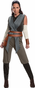 Rey Last Jedi Adult Small Costume