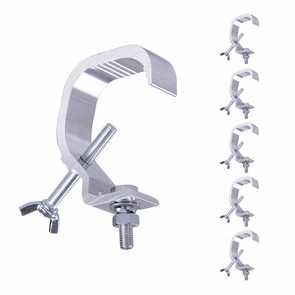 Stage Light Hook Aluminum Alloy Par LED Moving Head Clamp Mount 44lbs 66lbs Opt. 6pcs Small