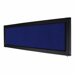 Tradeshow Aluminum Frame Flannelette Panel Display Header School Open Day Board Blue