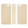 Ultra Thin Clear Crystal Plating Soft TPU Case Cover Protector For iPhone 6 6S Gold