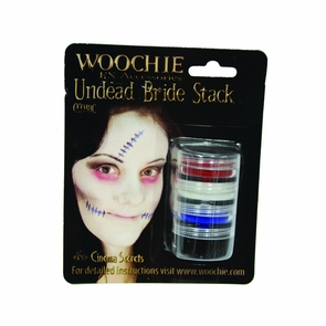 Undead Bride Stack Carded Costume