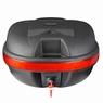 Universal 30L Motorcycle Tail Box Scooter Luggage Key Lock Storage Carrier Case