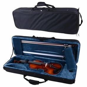 VIF 4/4 Full Size Handmade 7 Years Maple Wood Violin Student Talent Gift w/ Case