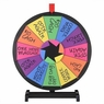 """WinSpin® 15"""" Tabletop Color Prize Wheel of Fortune 12 Slot Spin Game Tradeshow"""