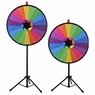 """WinSpin® Tripod Prize Wheel Fortune Spin Game Tradeshow Mall Carnival Lottery 30"""" Colorful Slot"""