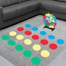 WinSpin Twister Game Template Body Twister Moves Board Sport Kids Adult Age 5+