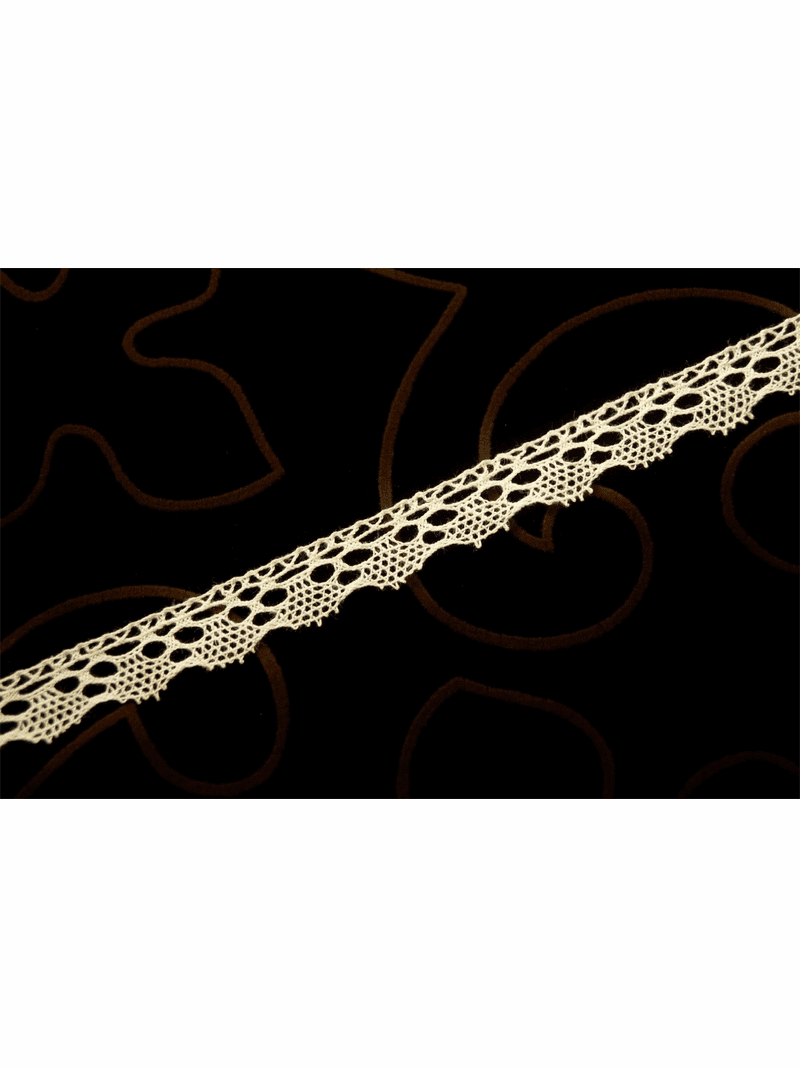 """5/8"""" Off White """"Made in Germany"""" Vintage Lace Trim #1307"""