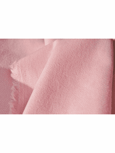 Baby Pink Wool Flannel Blend