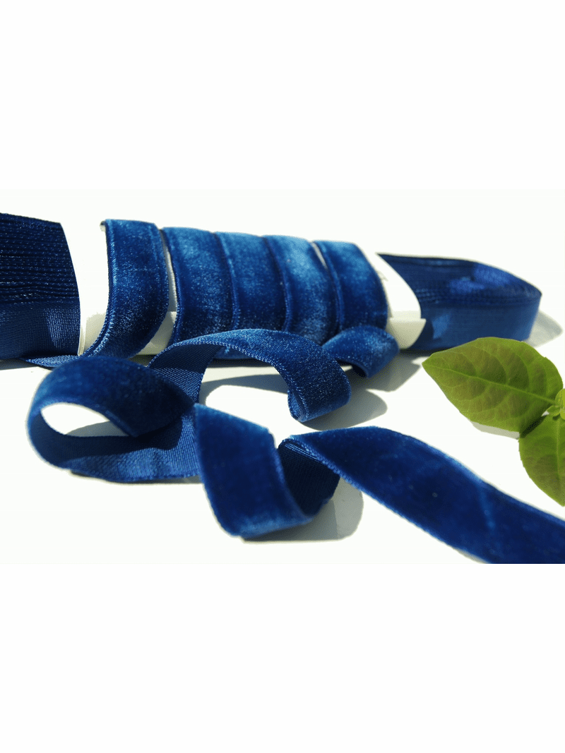 French Royal Velvet Ribbon by the yard 16mm