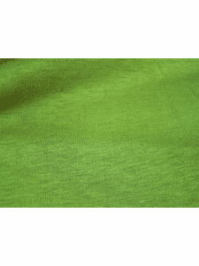 Green Olive Cotton Linen Blend Fine Knit Fabric # NV-220