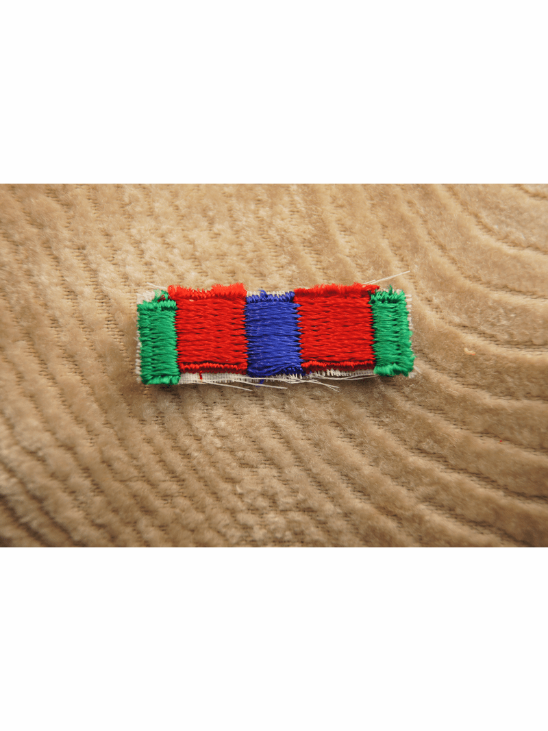 Green Red and Navy Iron On Applique # appliques-1057