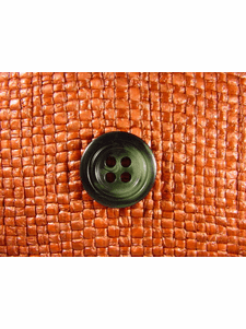 """Italian Buttons Wholesale (48pcs) 3/4"""" Multi Green Textured 4 Hole Sewing Button"""