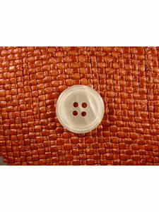 """Italian Buttons Wholesale (48pcs) 7/8"""" Textured 4 Hole Pearl Button"""