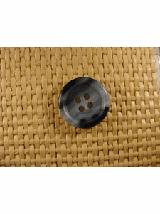 """Italian Buttons Wholesale (72pcs) 3/4"""" inch Multi Stone Blue 4 Hole Sewing Button"""