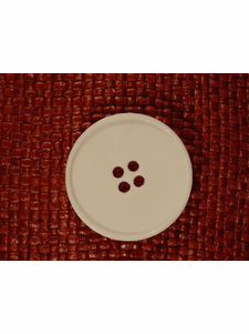 Italian Coat Buttons Wholesale (12pcs) Designer 4 hole Buttons from Italy 1 1/2 inches Off White #bag-284