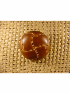 Italian Coat Buttons Wholesale (24pcs) Shank Buttons 1 1/8 inches Brown #bag-367