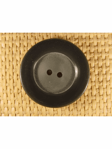 """Italian Coat Buttons Wholesale (25pcs) 1-3/8"""" Grey 2 Hole Sewing Button"""