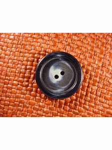 """Italian Coat Buttons Wholesale (36pcs) 1-1/8"""" Multi Navy Textured 2 Hole Sewing Button"""