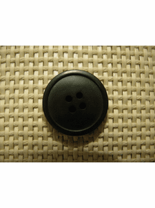 """Italian Coat Buttons Wholesale (36pcs) 1"""" Dark Green 4 Hole Sewing Button"""