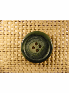 Italian Coat Buttons Wholesale (36pcs) 4 holes Italian Buttons 1 1/8 inches Green #bag-262