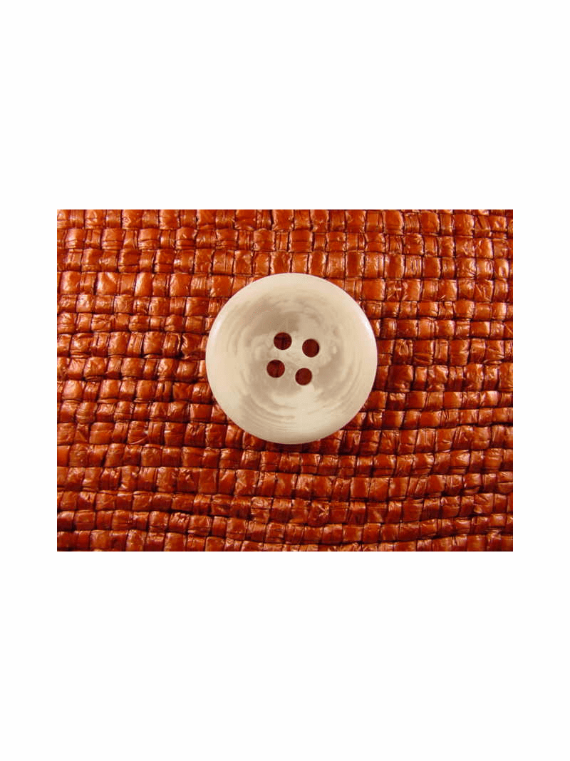 Italian Coat Buttons Wholesale (36pcs) 4 holes Italian Buttons 7/8 inch White #bag-357