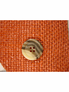 Italian Coat Buttons Wholesale (36pcs) Designer 4 hole buttons from Italy 1 inch Earthtone #bag-329