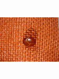 Italian Coat Buttons Wholesale (48pcs) Faux Leather Shank Buttons from Italy 5/8 inch Brown #bag-300