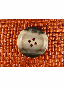"""Italian Coat Buttons Wholesale (62pcs) 1"""" Multi Grey Patterned 4 Hole Sewing Button"""