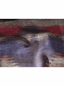 Large Repeat Patterned Novelty Wool Blend Fabric # WL-166
