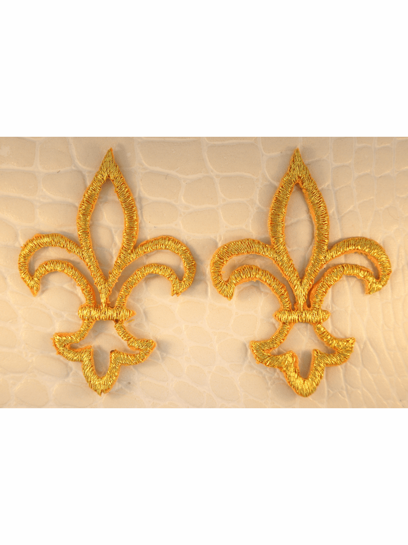 Metallic Gold Iron-On Applique #appliques-11