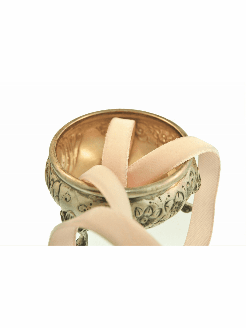Pale Peach Pink French Velvet Ribbon Trim 9mm