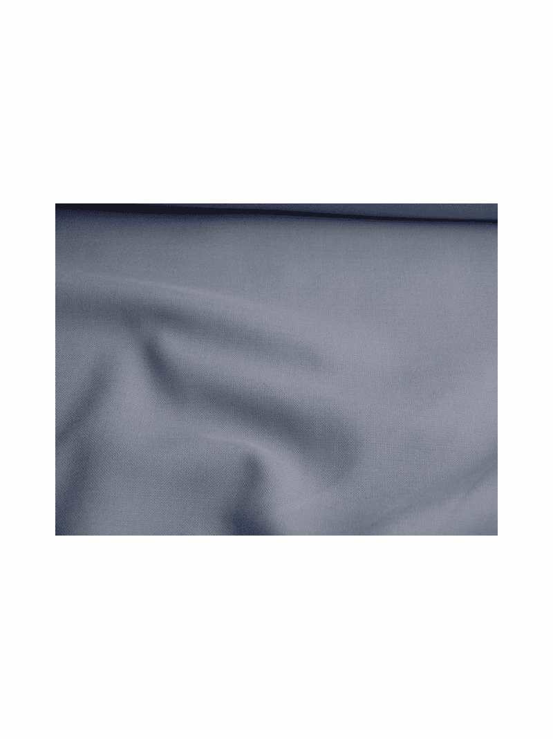 Periwinkle Blue Washable Wool Blend Fabric #WL-408