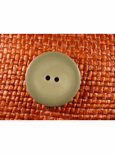SAMPLE SWATCH - 2 holes Designer Buttons 1 1/8 inches Sage Green #bag-251