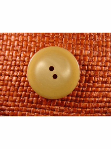 SAMPLE SWATCH - 2 holes Designer Buttons 1 1/8 inches Tan #bag-264