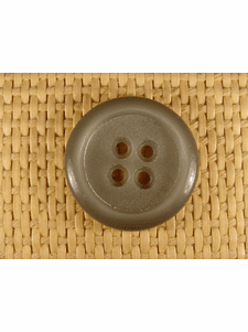 SAMPLE SWATCH - 4 holes Designer Buttons 1 1/8 inch Sage Green #bag-73