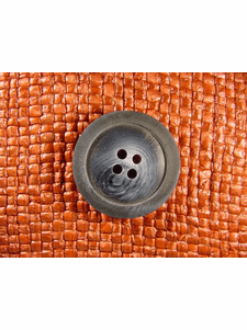 SAMPLE SWATCH - 4 holes Italian Buttons 1 1/8 inches Navy #bag-188