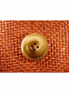 SAMPLE SWATCH - 4 holes Italian Buttons 1 inch Brown #bag-213