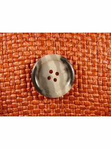SAMPLE SWATCH - 4 holes Italian Buttons 1 inch Multi Gray #bag-156