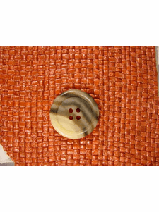SAMPLE SWATCH - Designer 4 hole buttons from Italy 1 inch Earthtone #bag-329