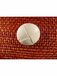 SAMPLE SWATCH - Shank Buttons 1 inch White #bag-272