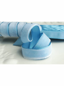 Sky Blue French Ribbon by the Yard 16mm