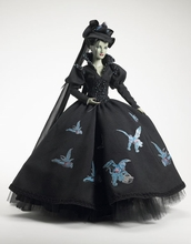 "16"" TAKING FLIGHT WICKED WITCH- incl Witch's 'gazing crystal' water globe"