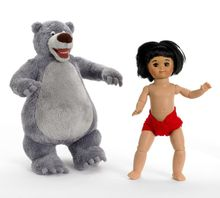 "8"" JUNGLE BOOK - incl plush 9"" Baloo"