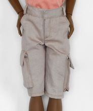 "CARGO SHORTS - fits 17"" male doll with Matt body"