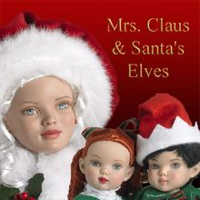 MRS. SANTA CLAUSE and SANTA'S ELVES - click here