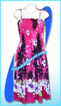 Aloha Beach Dress- 1524Pink
