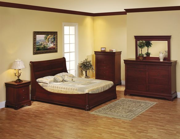 Amish Louis Phillipe Bedroom Collection